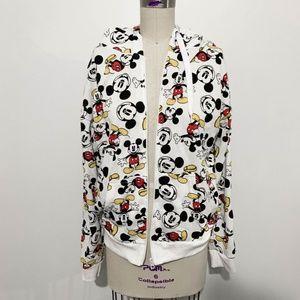 NWOT - Disney - Mickey Mouse Zip Up Jacket